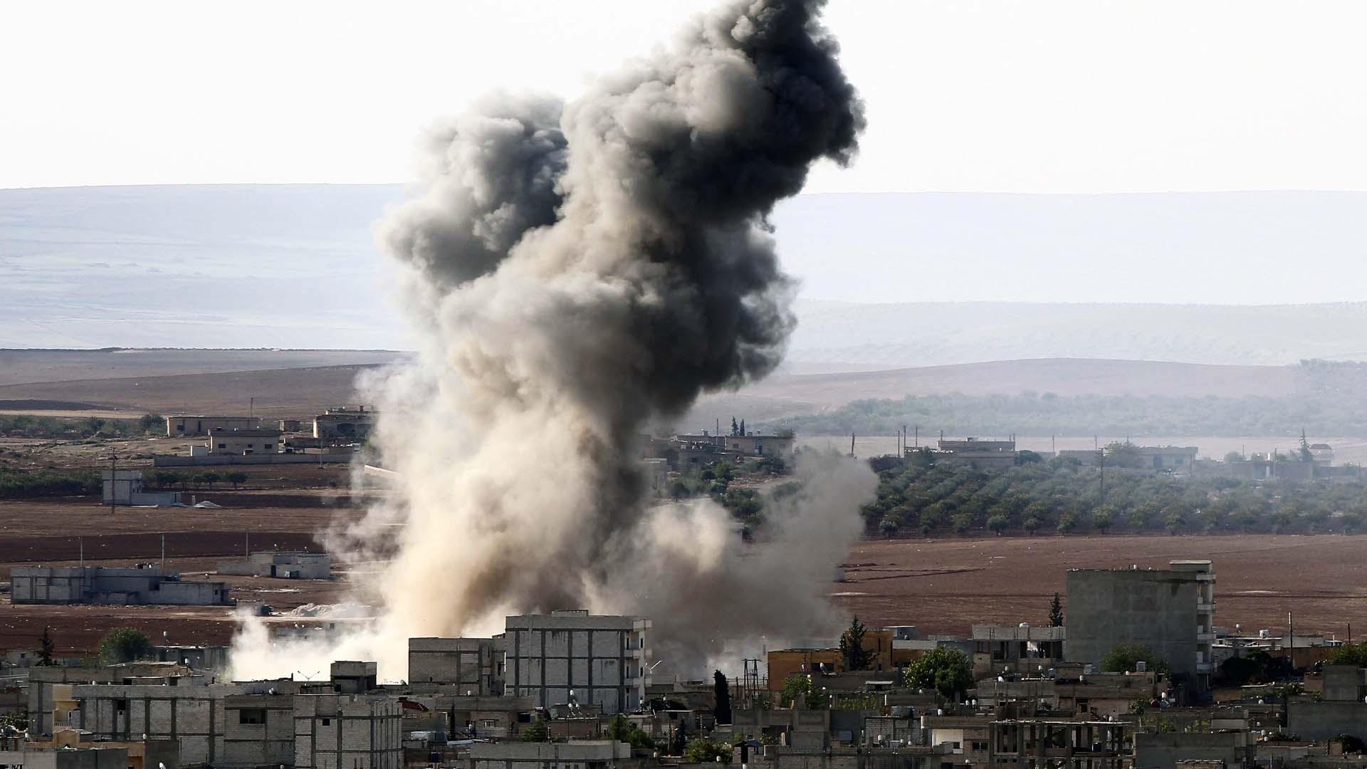 EE.UU. lidera la coalición internacional que está bombardeando Siria en pro de la extinción terrorista