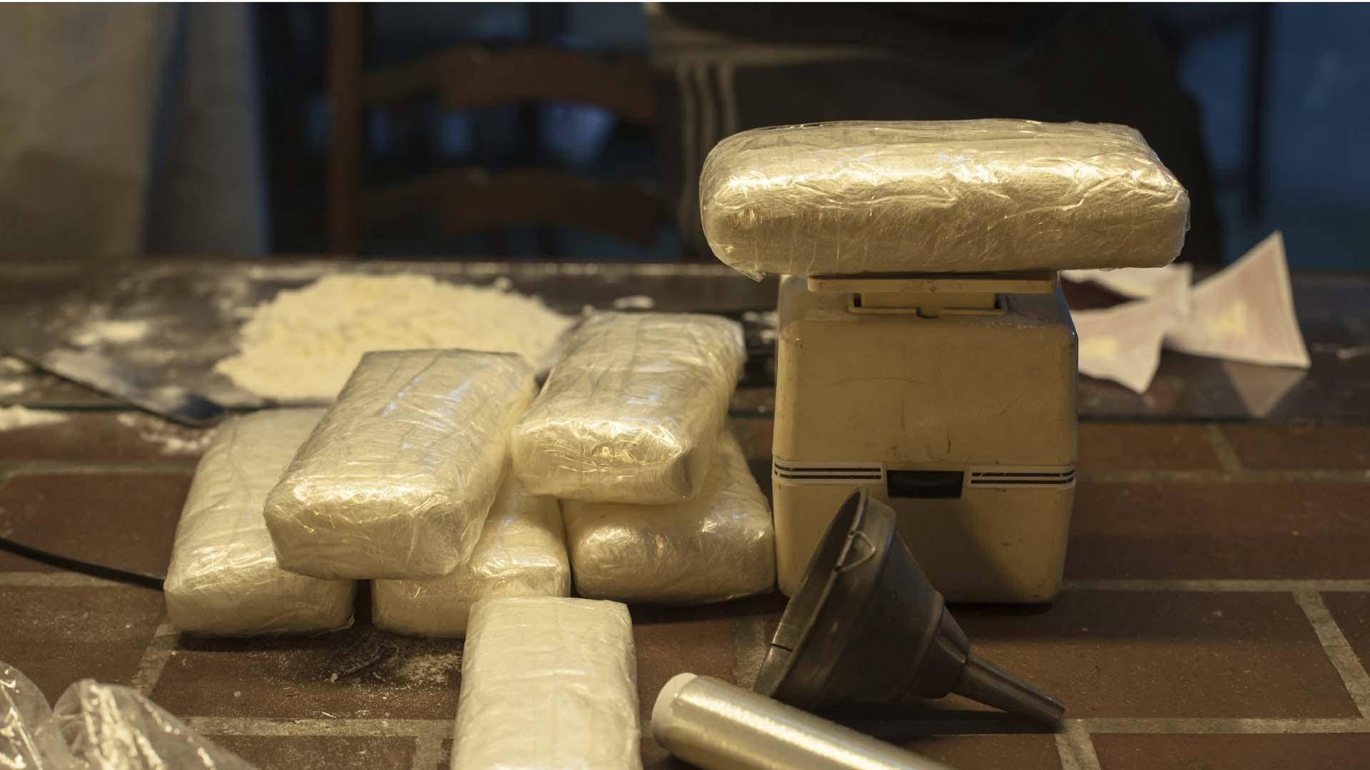 Policía Judicial de Colombia dirigió dos operaciones en donde recuperaron aproximadamente una tonelada de la droga