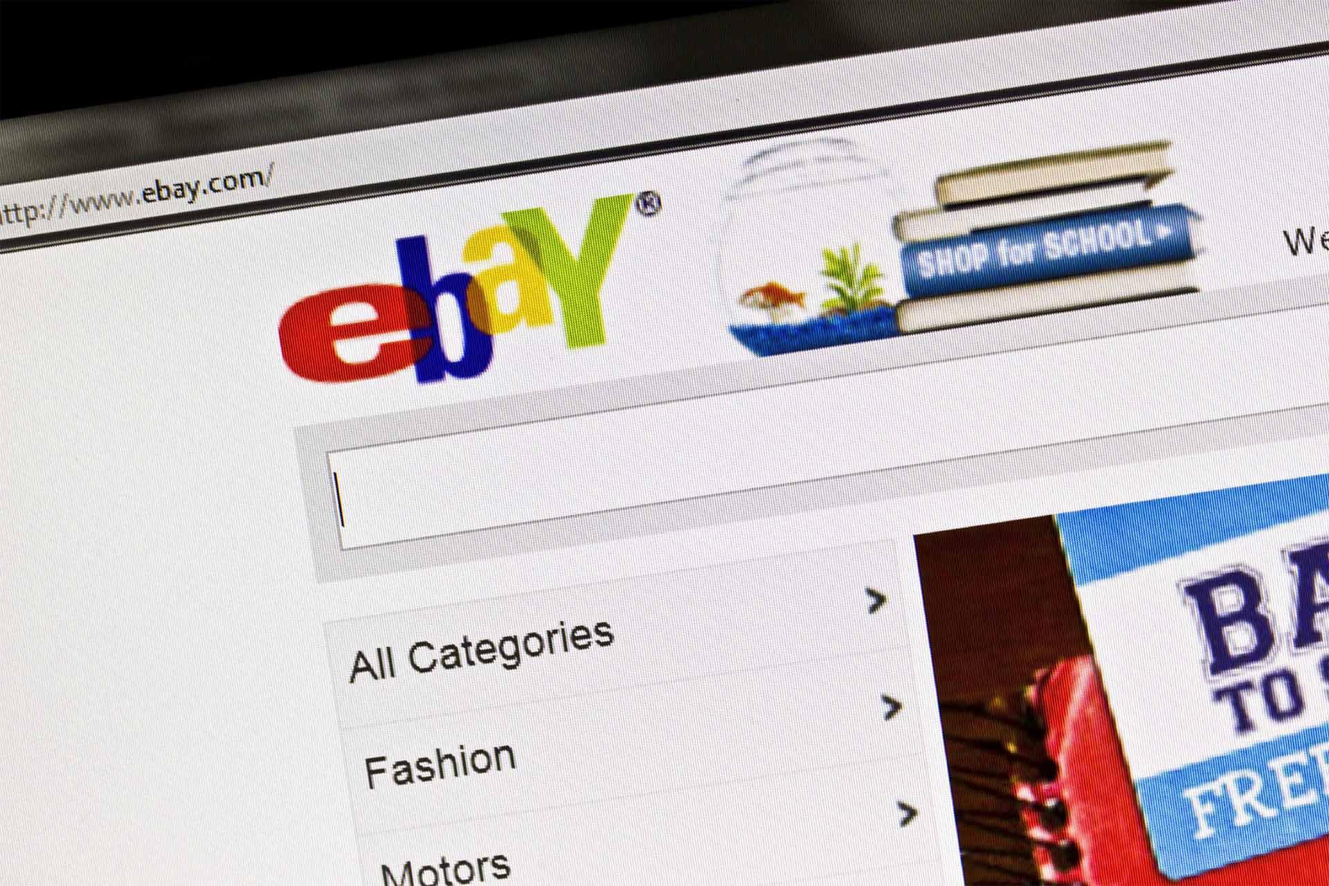 Doblellave-Ebay estrenó sección de venta de artículos por 10$