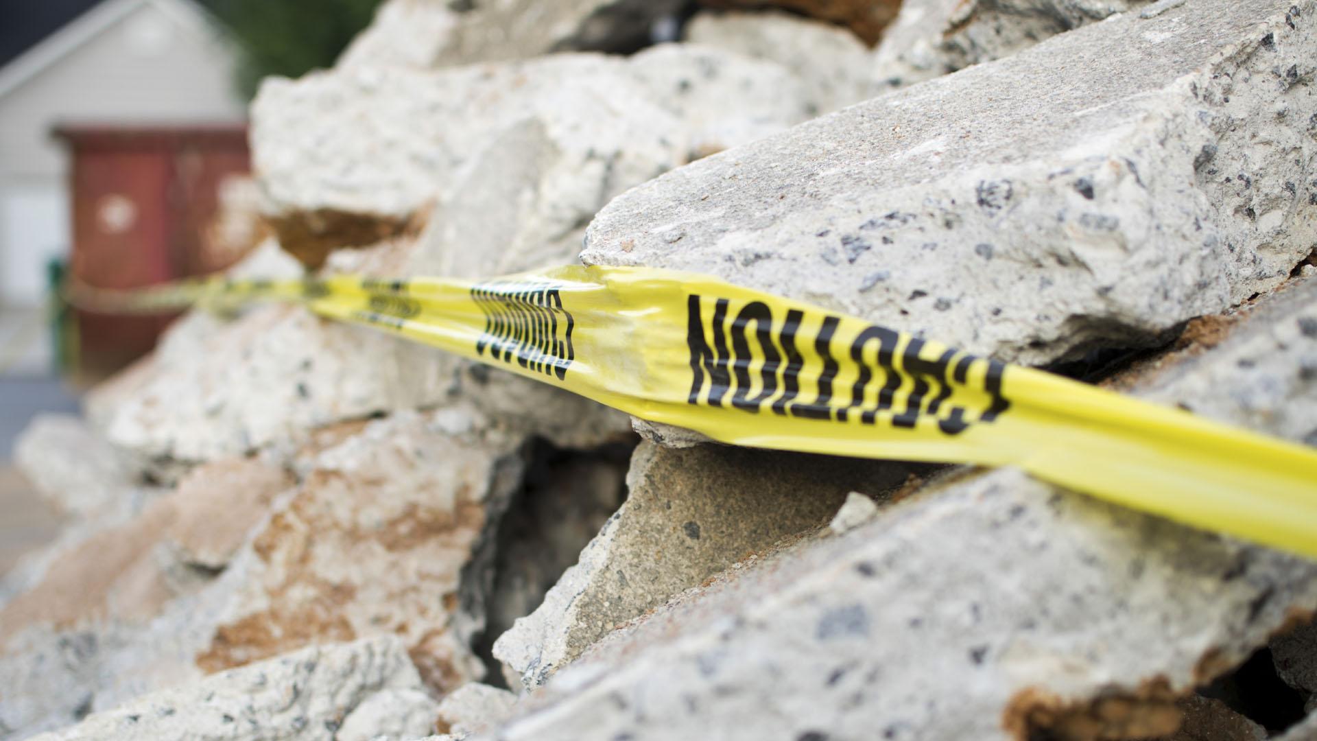 Fuentes oficiales confirmaron que el hecho no dejó fallecidos y hasta el momento no se reportan réplicas