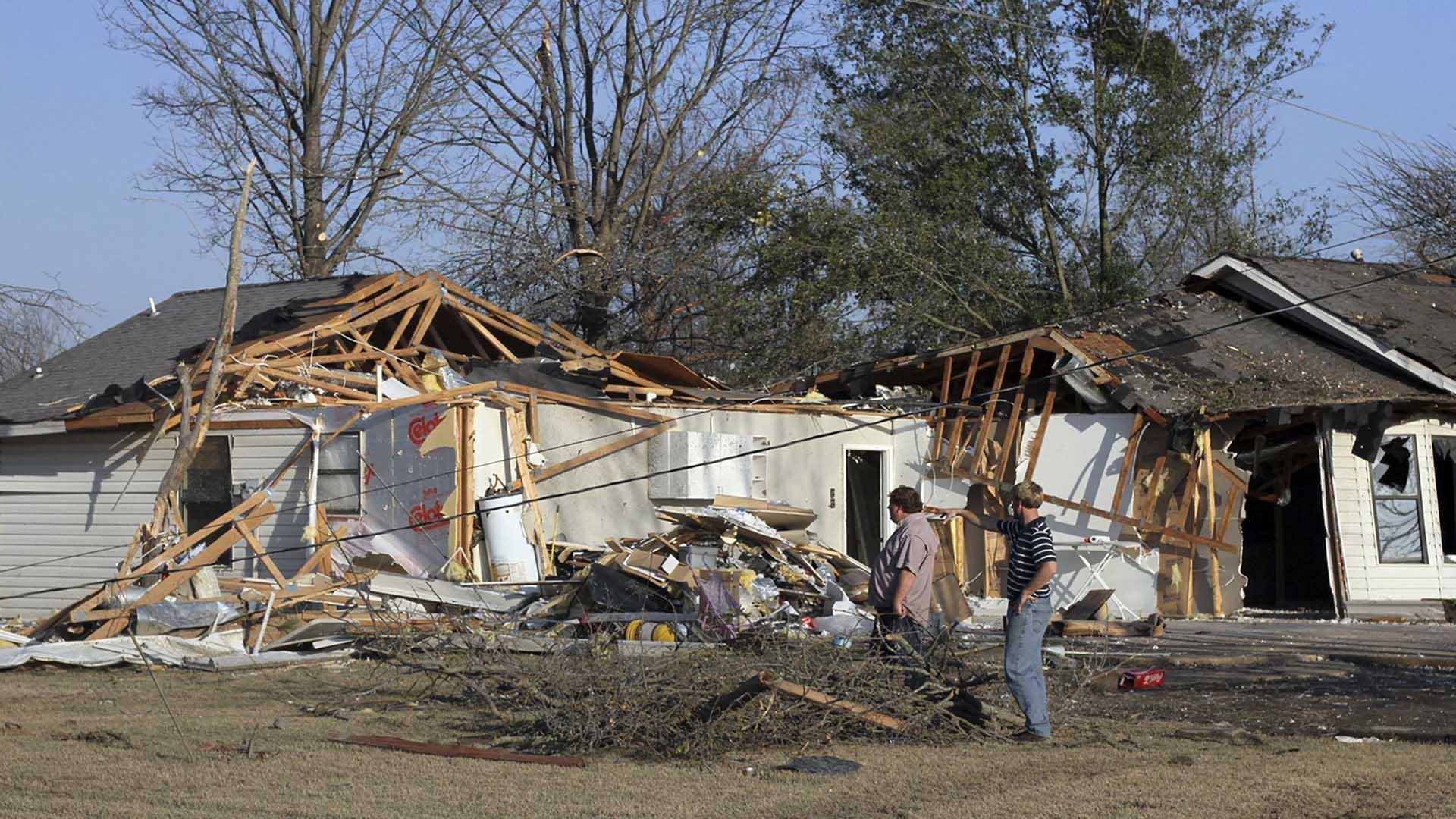 Los estados más afectados son Missouri, Illinois, Texas, Mississipi, Tenessee, Arkansas, Alabama y Nuevo México