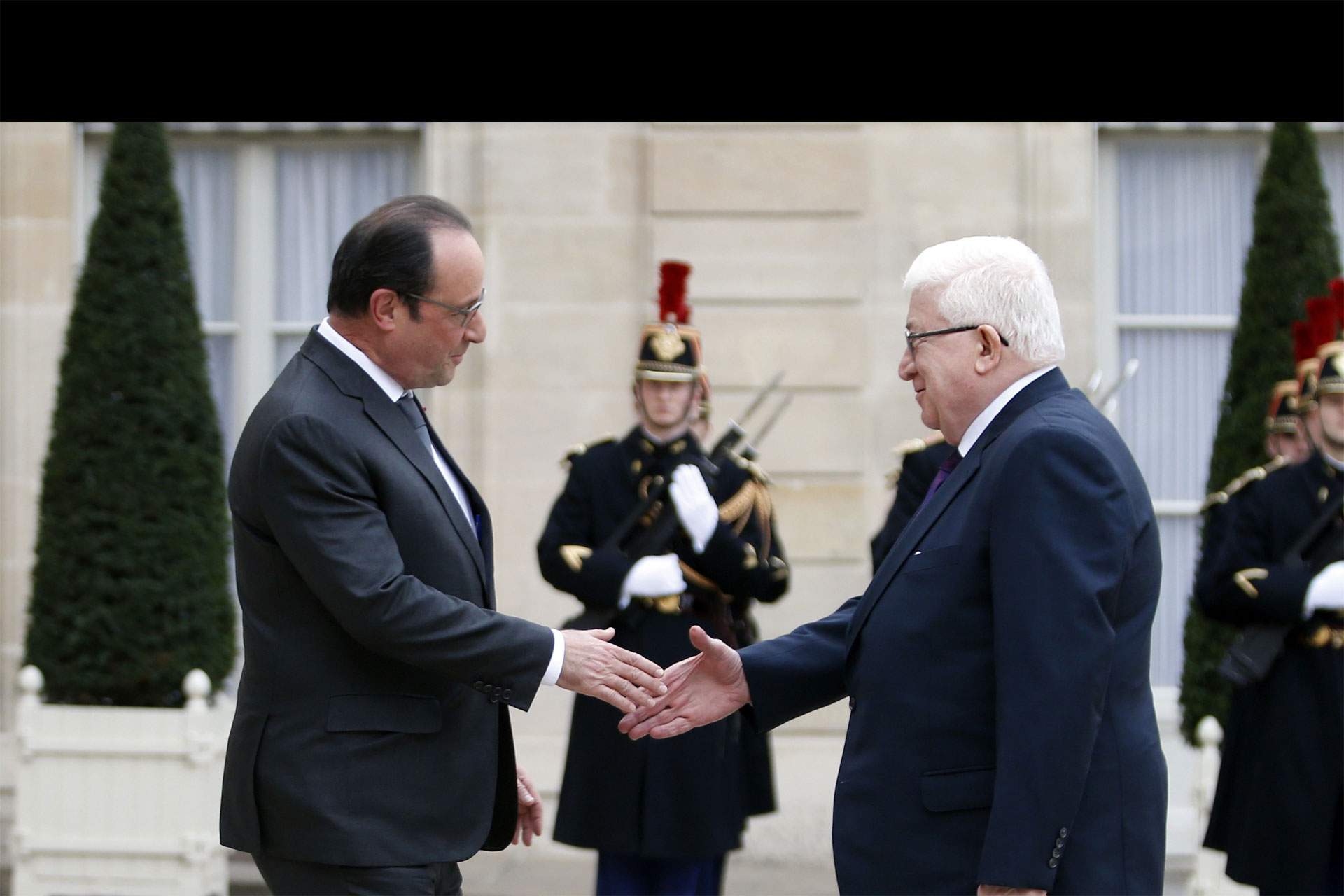 Los presidentes de ambos países se reunieron en el Palacio Elíseo