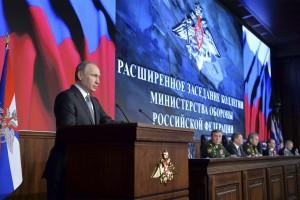"""""""Los objetivos que ponen en peligro la infraestructura rusa en Siria deben ser destruidos de inmediato"""", subrayó el presidente"""