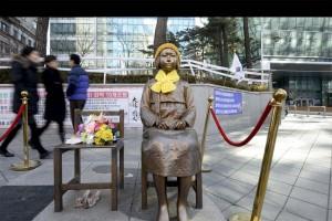 Los problemas originados por esclavización de soldados japoneses hacia mujeres coreana han sido el mayor obstáculo para una mejora de las relaciones entre ambas naciones