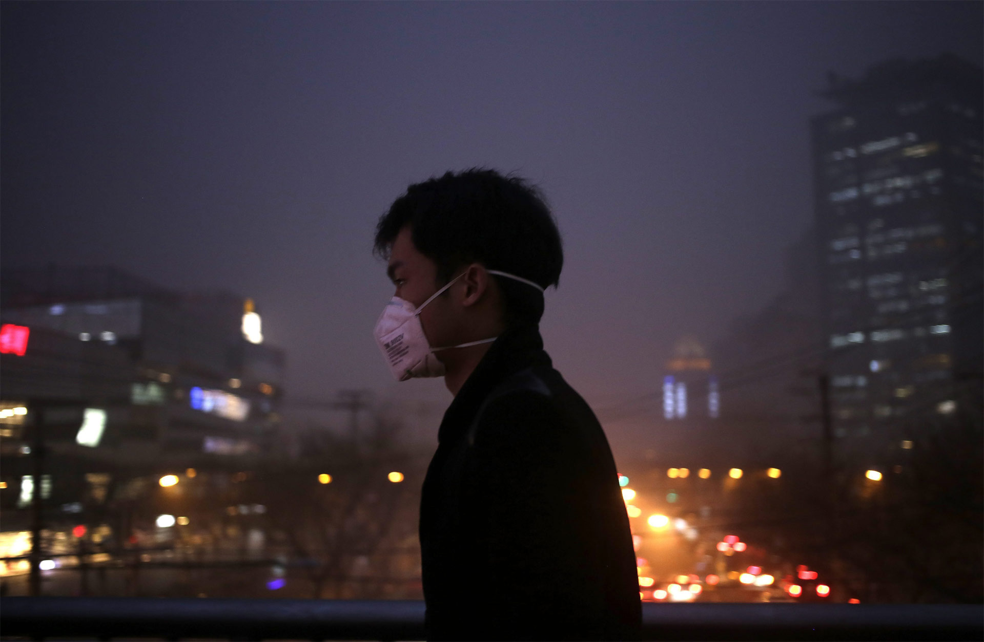 Este lunes, el gobierno subió la escala de alerta por polución ambiental, alcanzando el nivel más peligroso de su historia