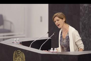 Lo confirmó la embajadora estadounidense ante la ONU, Samantha Power