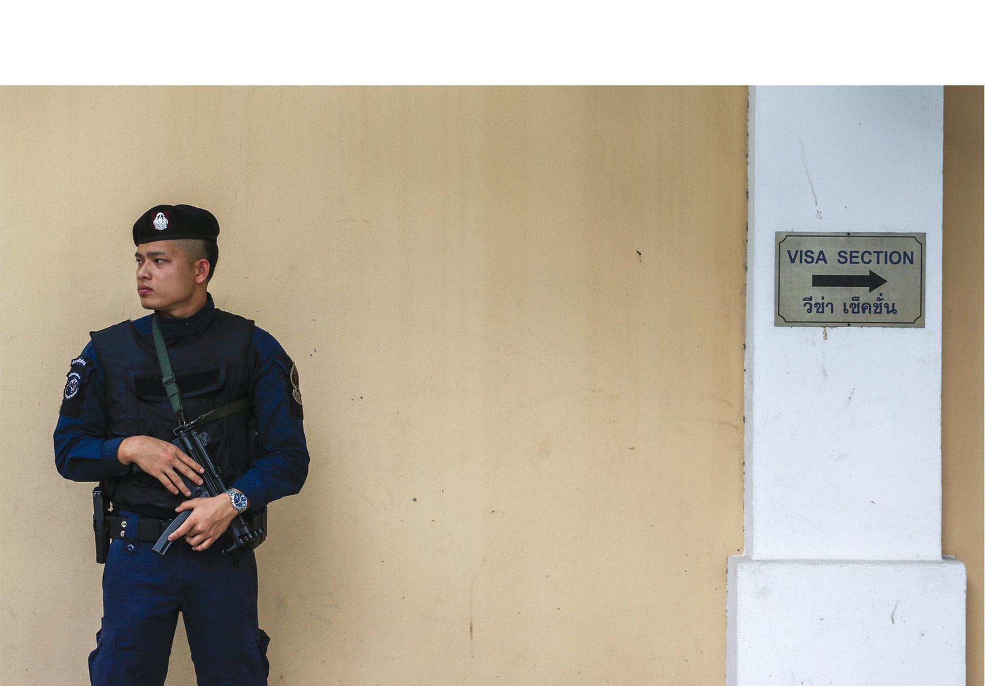 Un portavoz del gobierno informó que las fuerzas de seguridad están preparadas ante cualquier señal de peligro