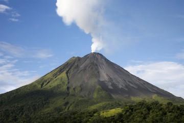 Tuvo 17 erupciones desde el año 1524, cuando se comenzó a registrar su actividad