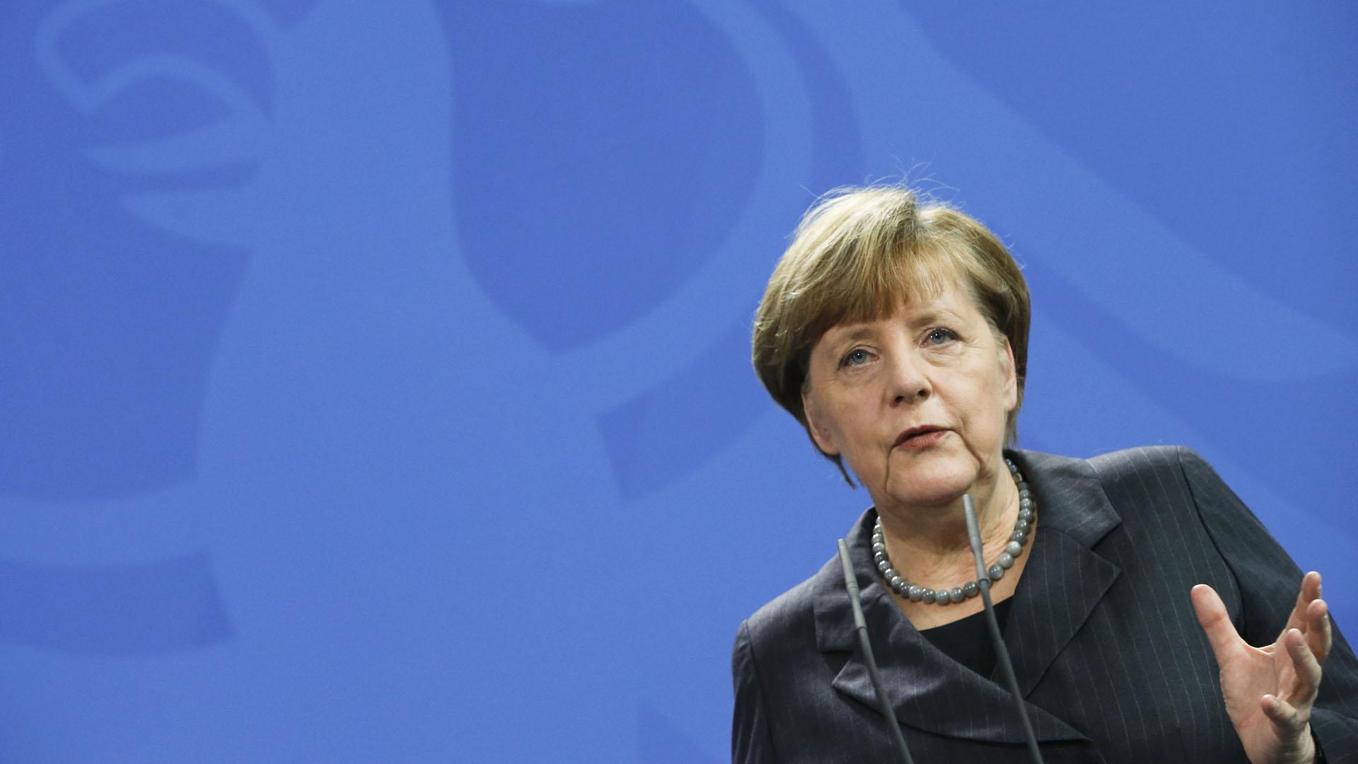 La canciller impulsó una política liberal para la acogida de refugiados