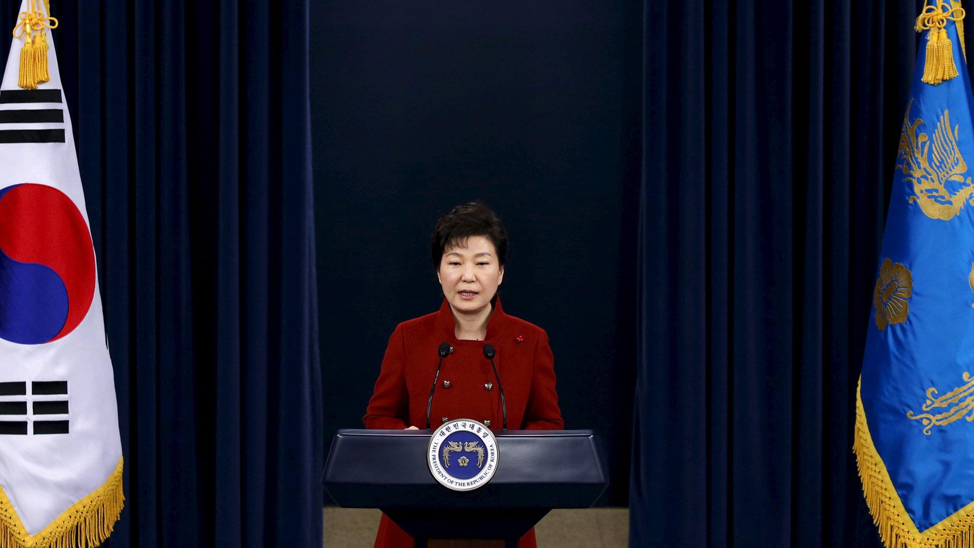 La presidenta surcoreana, Park Geun-hye, pidió especial apoyo a China y a toda la comunidad internacional