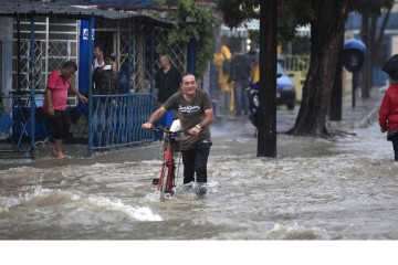 Las autoridades informaron que las fuertes precipitaciones no dejaron víctimas mortales ni heridos