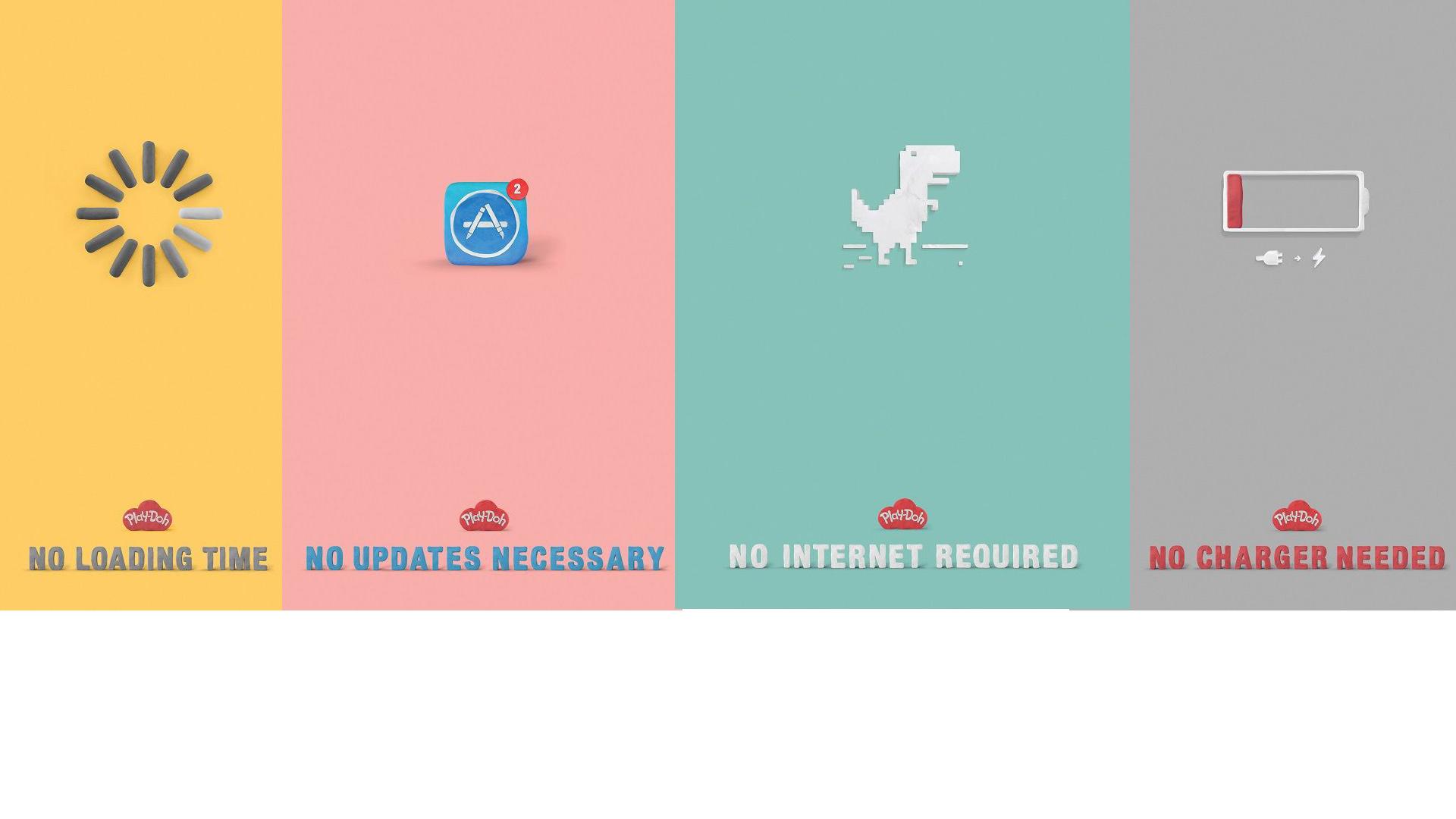 La compañía lanzó una campaña publicitaria donde explica las ventajas de los juguetes tradicionales, cero tecnológicos