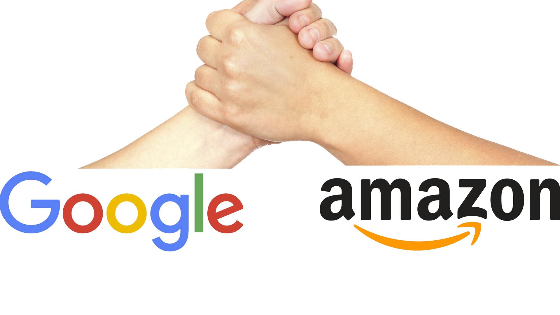 Ambos gigantes del internet compiten en ciertas áreas, pero no de manera frontal