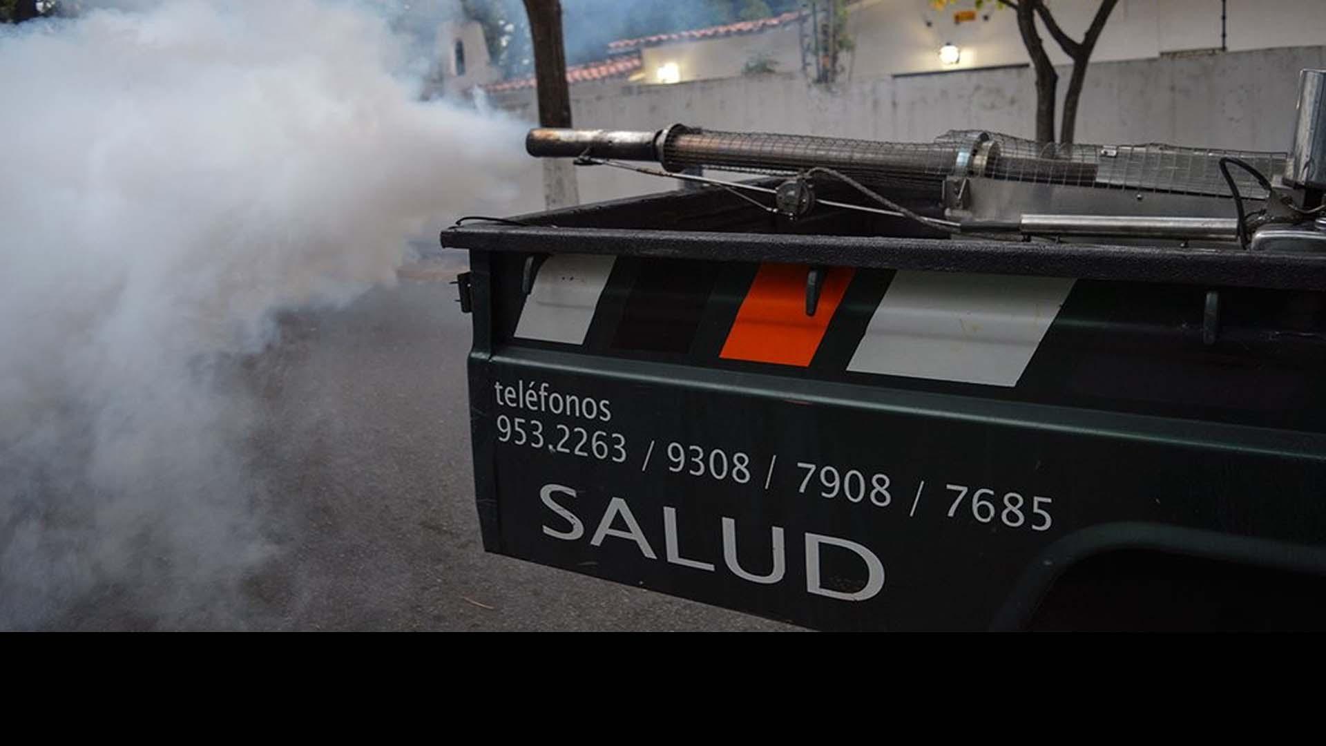 Activan nuevo cronograma de fumigaciones para prevenir enfermedades transmitidas por la picadura de un mosquito