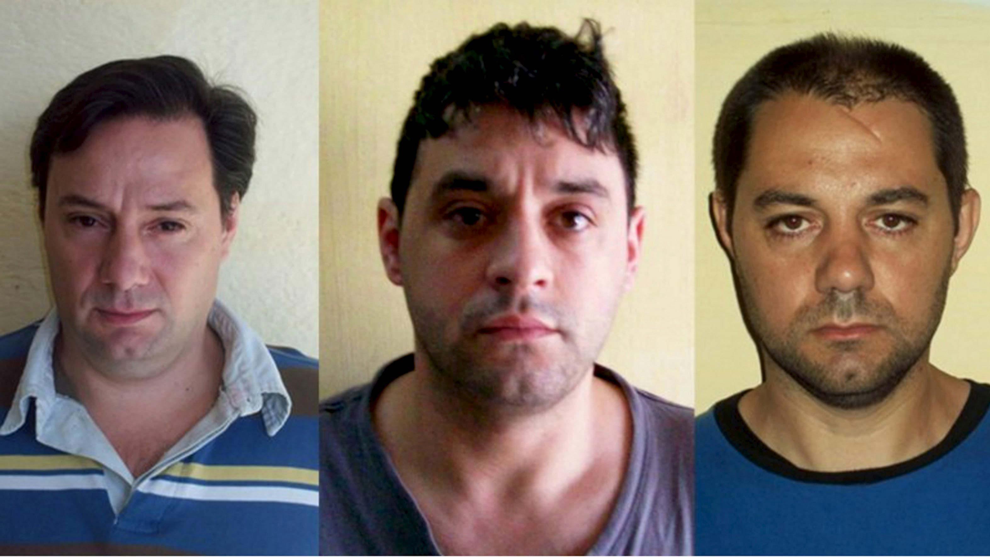 Son culpables de un triple asesinato vinculado al narcotráfico. El tercer prófugo, fue apresado el pasado sábado