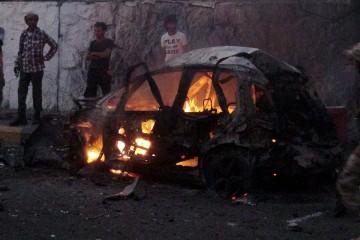 En el atentado dirigido al jede de seguridad de la ciudad de Adén, dos custodios y cinco transeúntes murieron