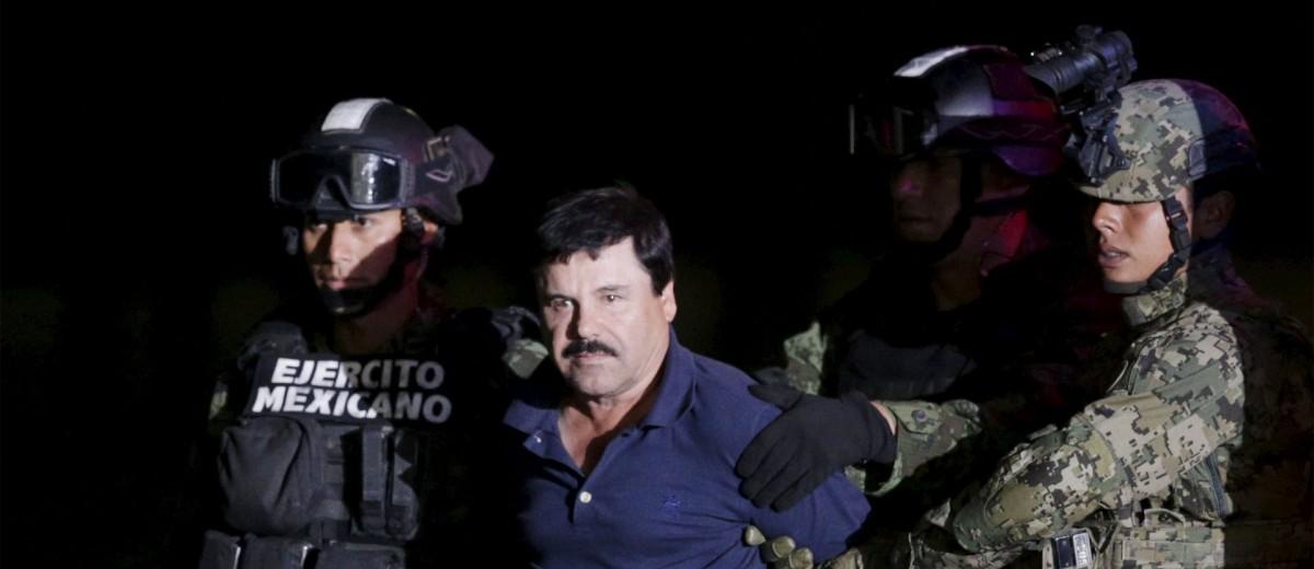"""Fiscalía de Nueva York retira seis de los 17 cargos contra """"El Chapo"""""""