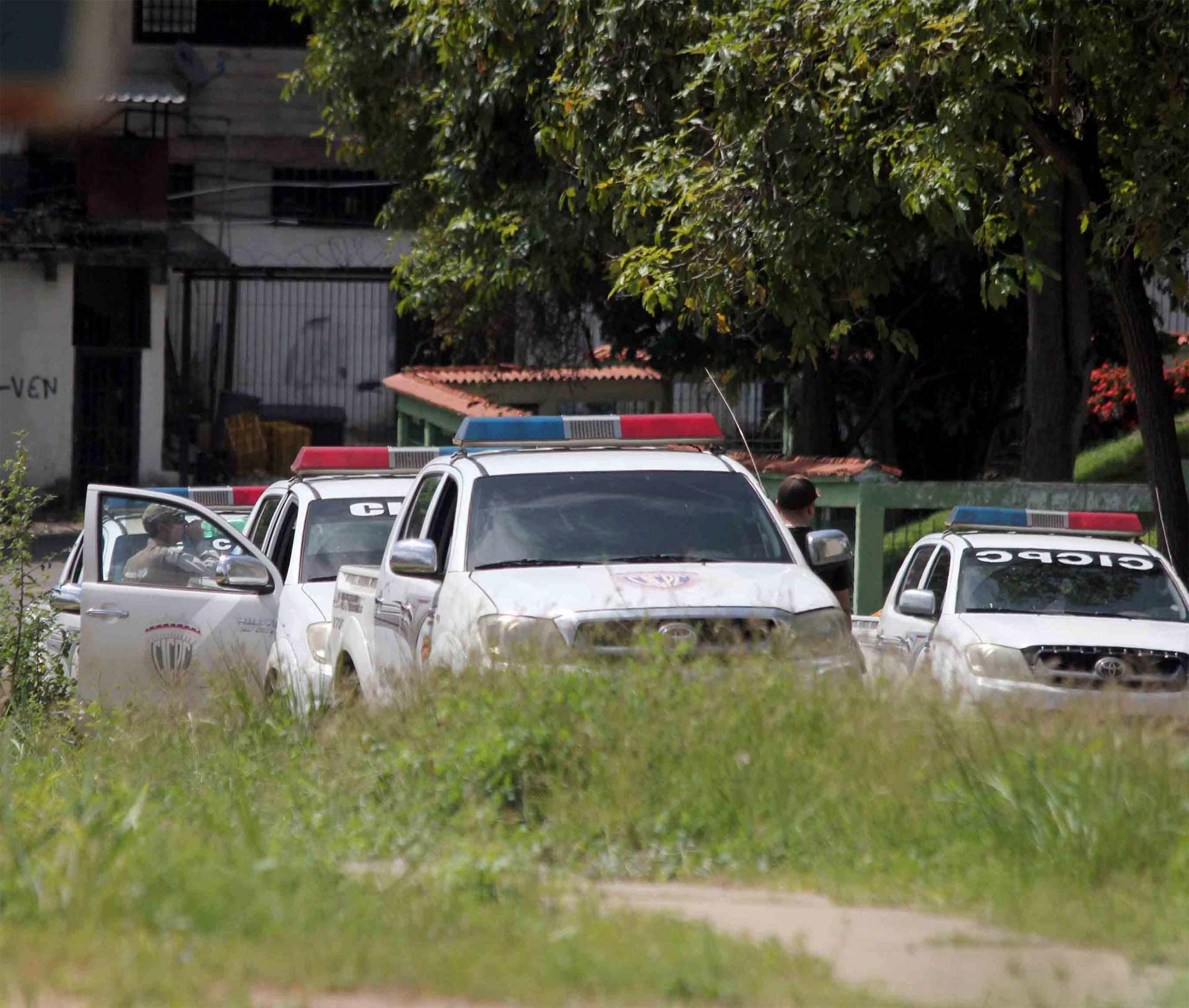 Funcionarios del Cicpc dieron con los hombres y con un vehículo reportado como robado