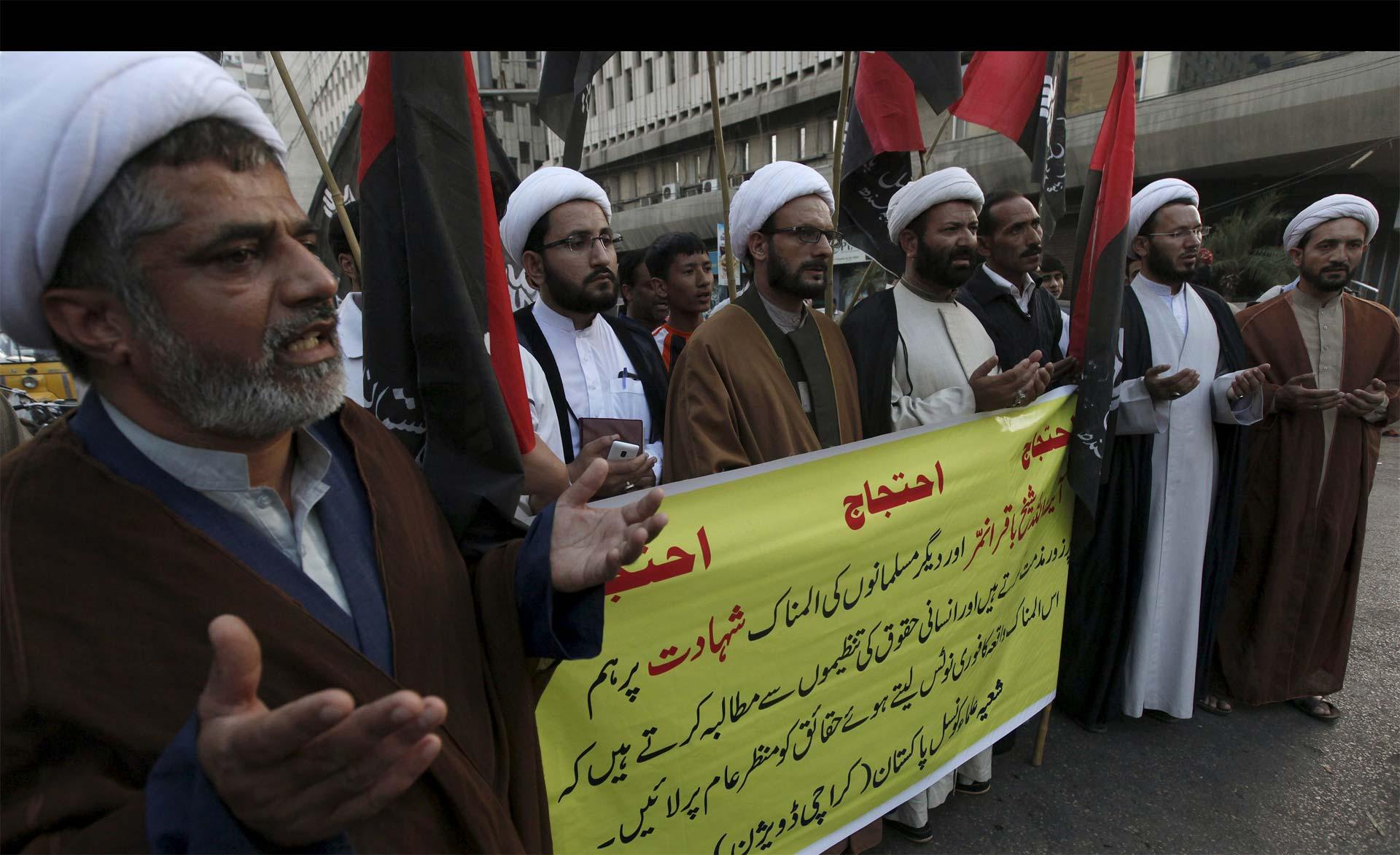Habían sido condenadas por cargos de terrorismo e incitación a la violencia. El clérigo chiita Nimr al Nimr se encontraba entre ellos