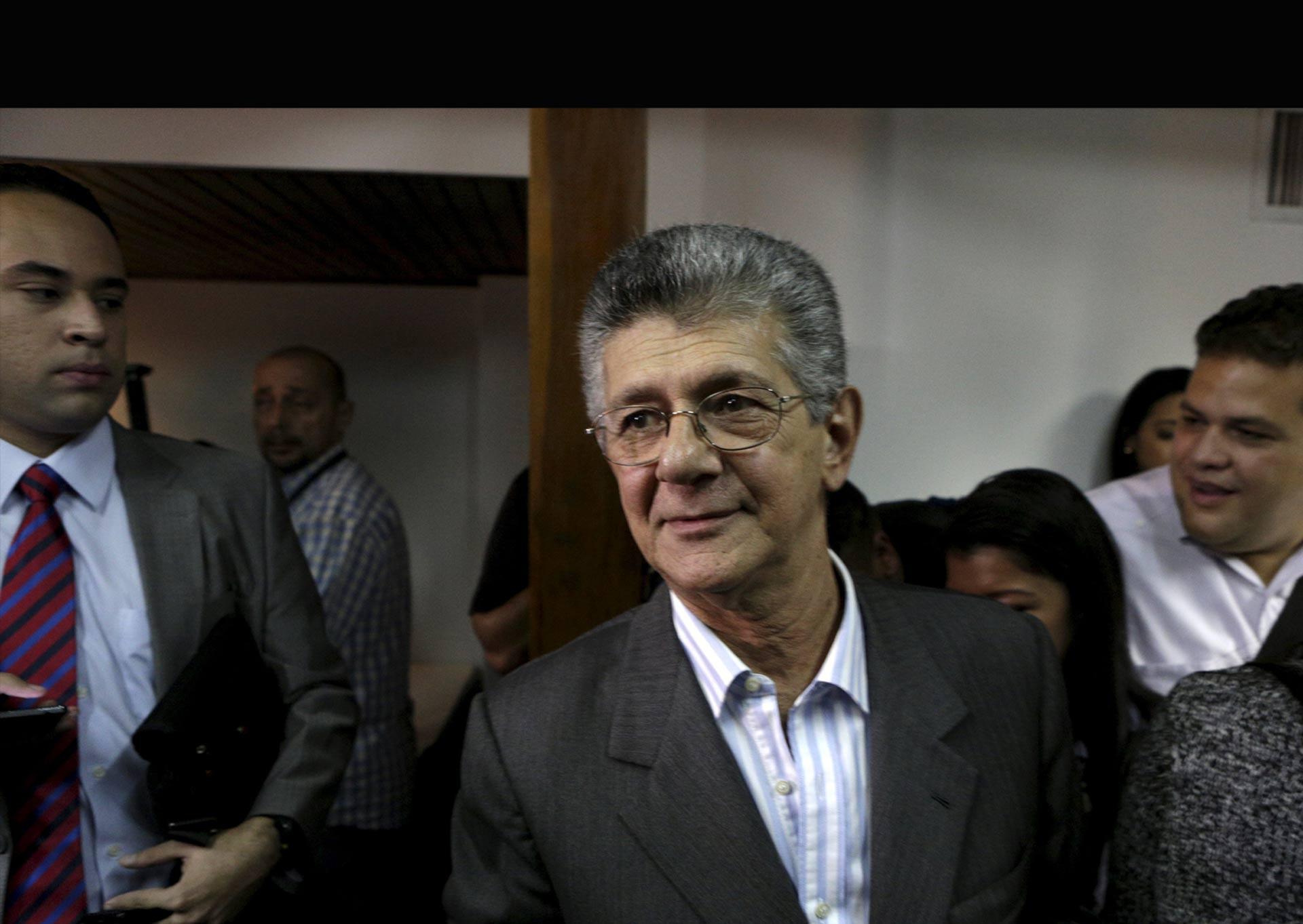 El órgano legislativo venezolano tiene un nuevo mandatario a cargo: Henry Ramos Allup