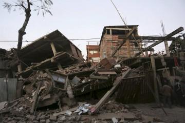 El temblor se produjo a primera hora de este lunes en la frontera entre India y Birmania, a 55 kilómetros de profundidad
