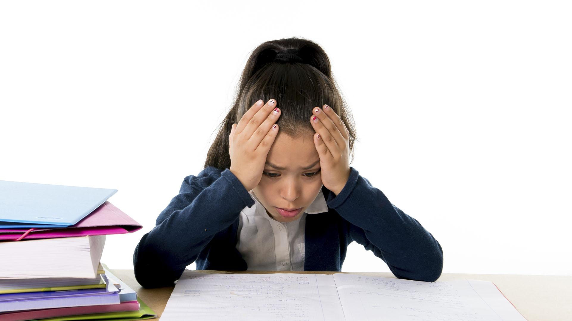 Expertos afirman que hoy en día los niños tienen un alto miedo al fracaso