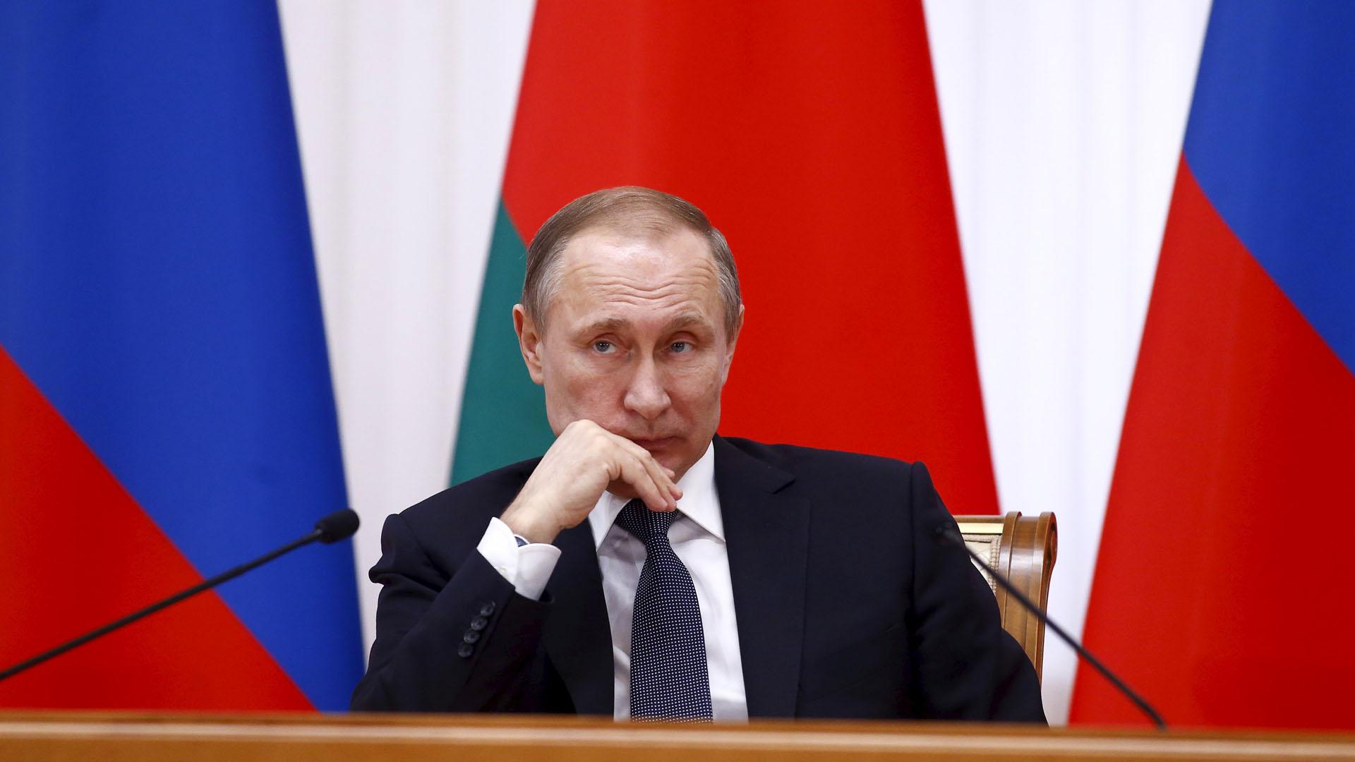 El presidente ruso aseguró que el combate contra todas las organizaciones terroristas será implacable