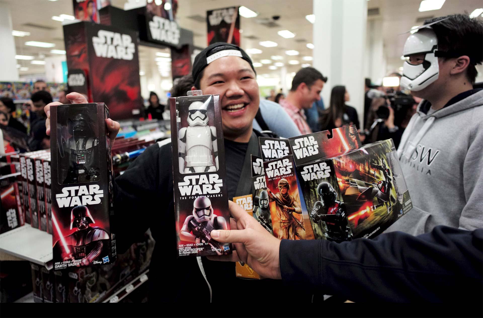 El último episodio de la saga de ciencia ficción ha sido un éxito comercial en venta de juguetes