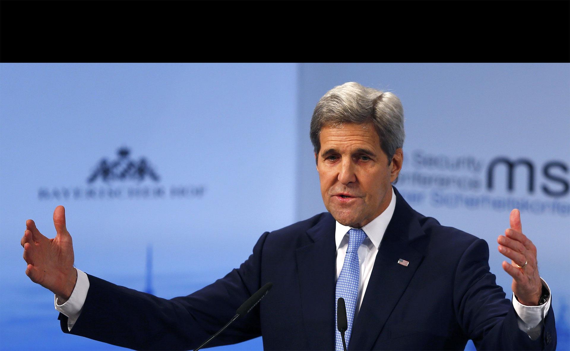 John Kerry expresó que para que una tregua en Siria ocurra deben acabarse los ataques