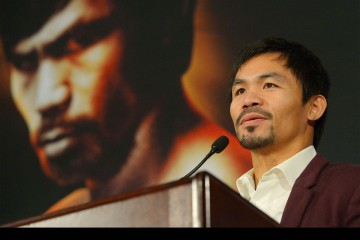 El boxeador filipino emitió declaraciones homofóbicas que indignaron a la empresa
