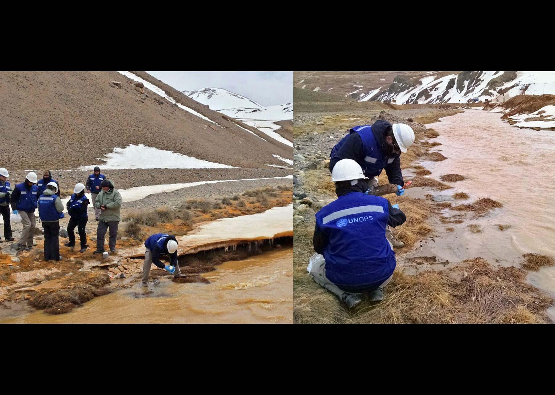 El derrame de la mina Veladero en Argentina ha dejado secuelas negativas en las aguas de los al rededores