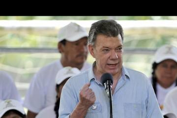 """Santos destacó que la fuerza militar está preparada para el """"supuesto"""" paro armado"""