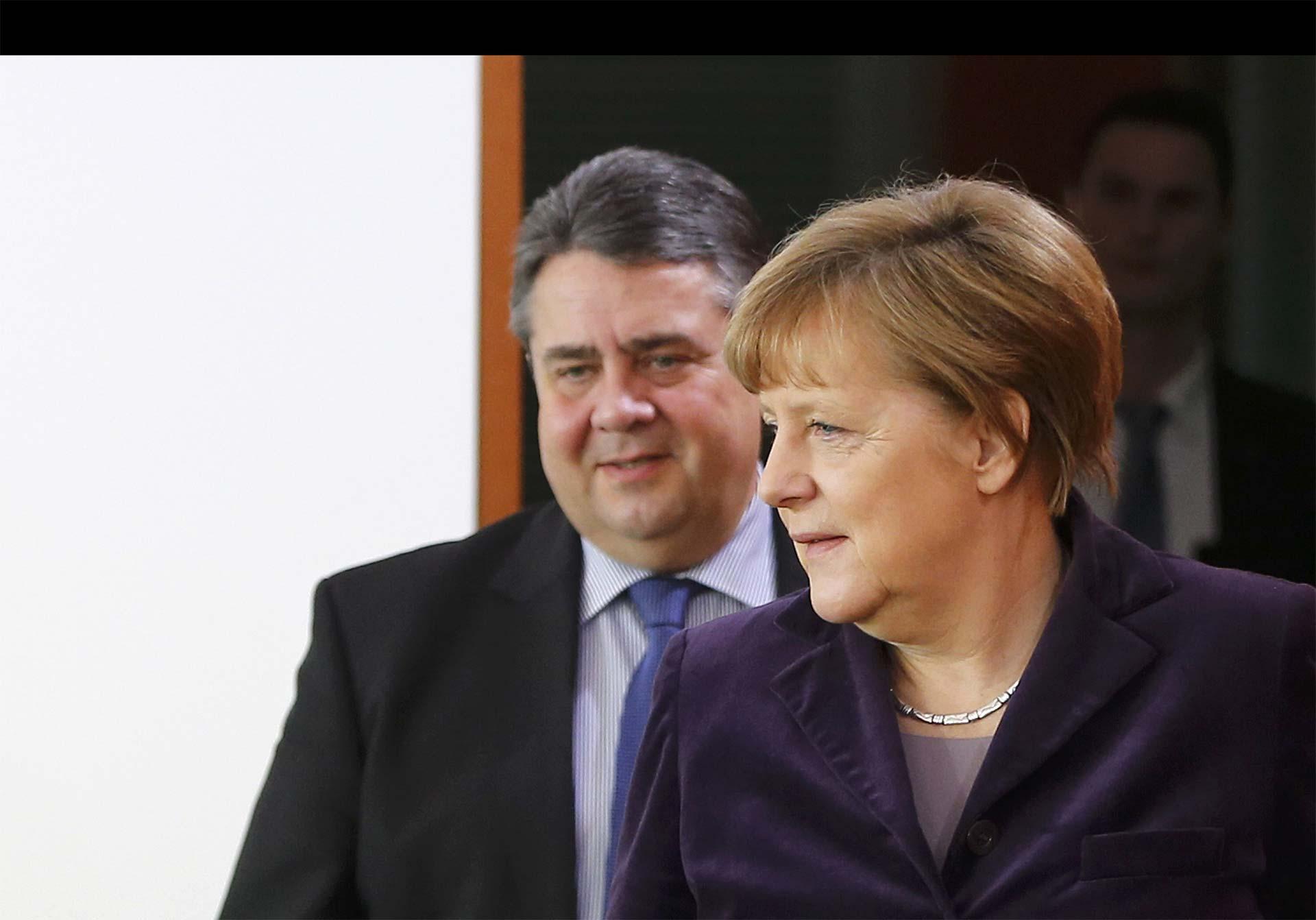 El ministro alemán de Economía, Sigmar Gabriel, asumió en el 2013 con la promesa de reducir la venta de armamento