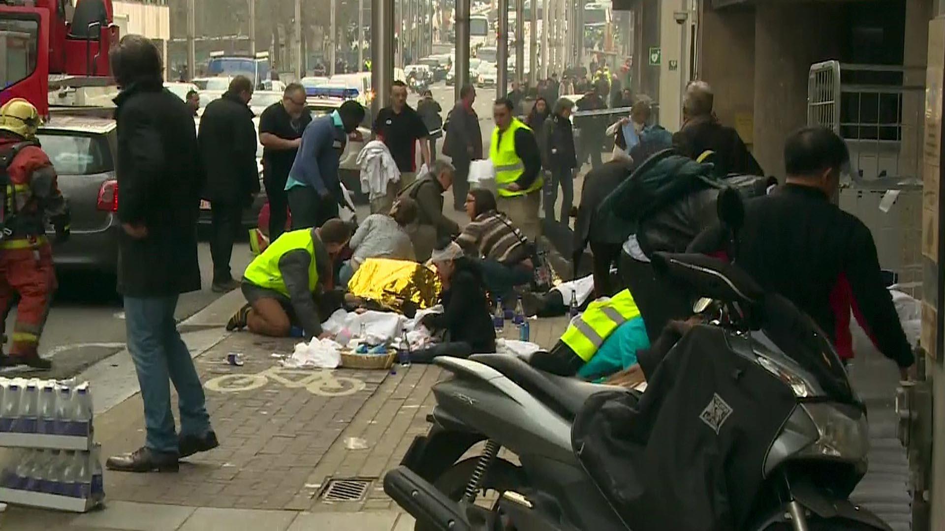 Según confirmó el primer ministro belga, Charles Michel los ataques ocurridos en el aeropuerto y la red de metro fueron atentados terroristas
