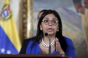 """La ministra venezolana de Relaciones Exteriores denunciará """"nuevas agresiones"""" por parte de Estados Unidos ante foros internacionales"""