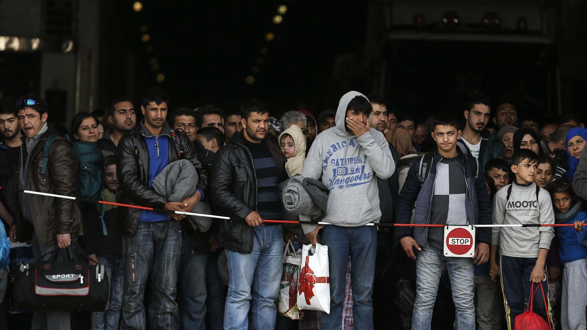 La Agencia de Naciones Unidas para los Refugiados denunció la falta de cooperación de los países europeos frente a la presión humanitaria