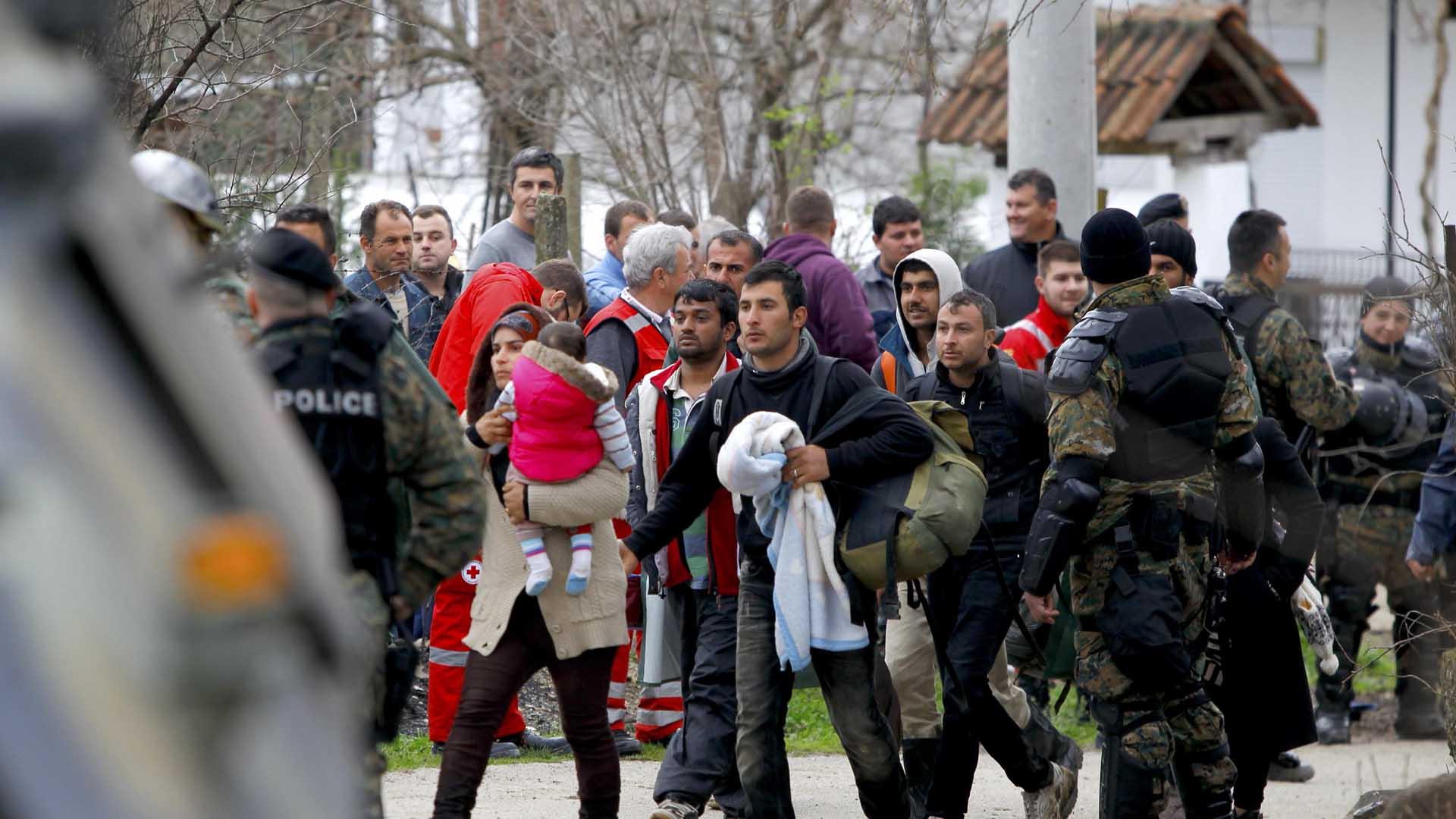 A pesar del pacto acordado entre la UE y Ankara se estima que más de 50 mil personas se encuentren varadas en el país heleno