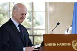 El enviado especial de la ONU, Staffan de Mistura, aseguró que aún queda mucho trabajo por delante