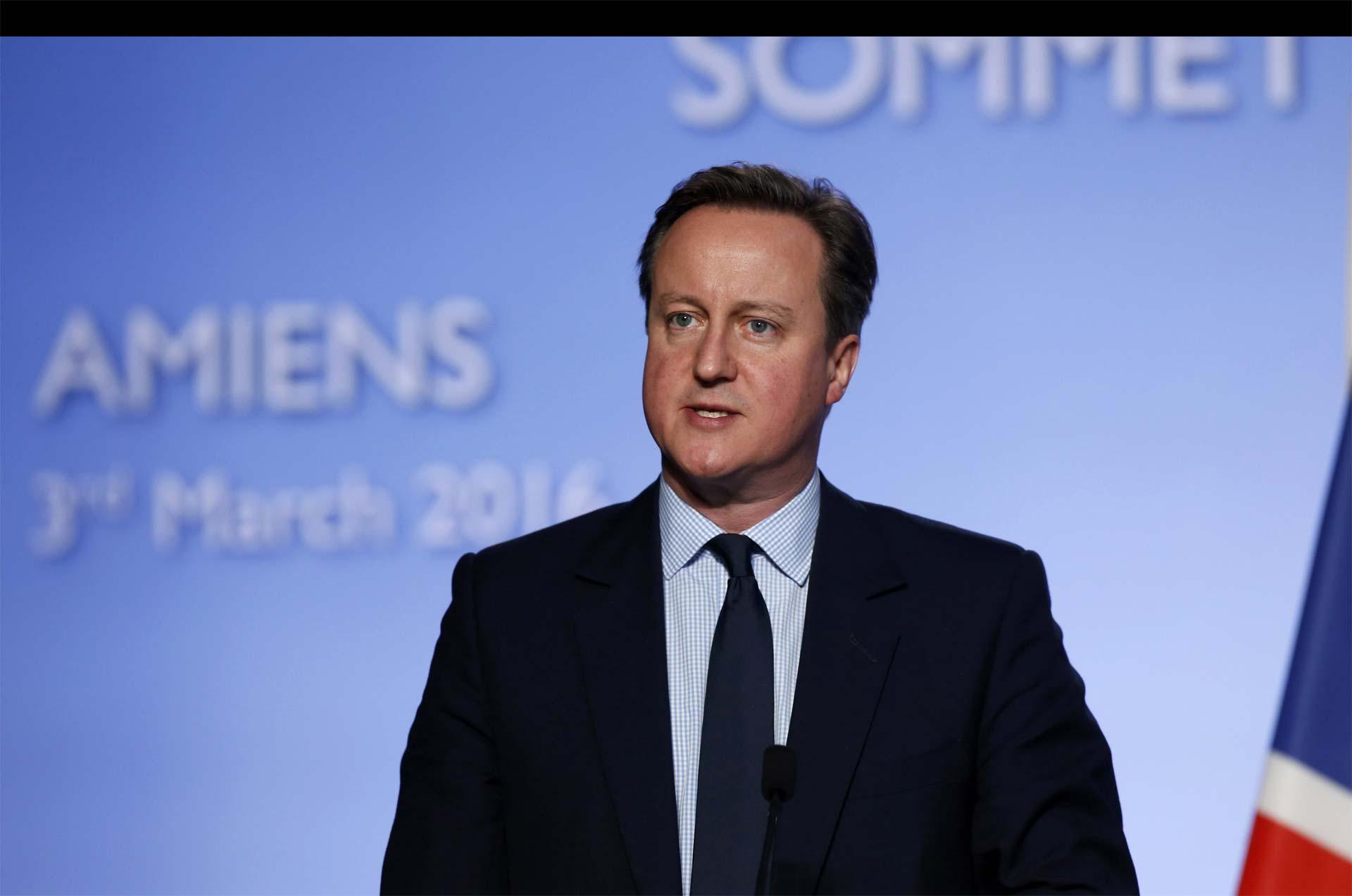 El primer ministro británico, David Cameron, insistirá en la necesidad de mantener el alto el fuego