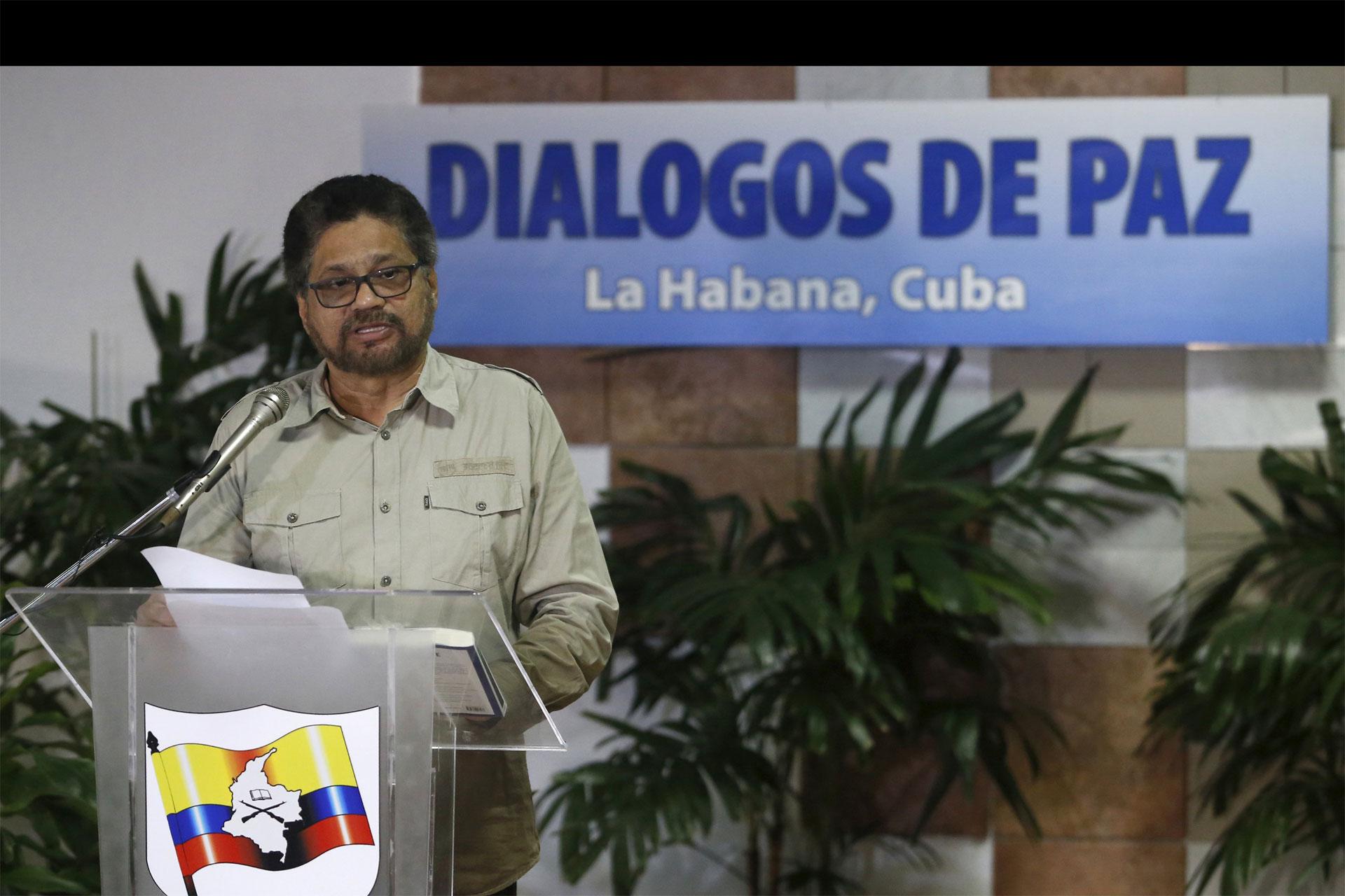 Iván Márquez aseguró que están poniendo todo su empeño para llegar a un acuerdo con el Gobierno de Colombia