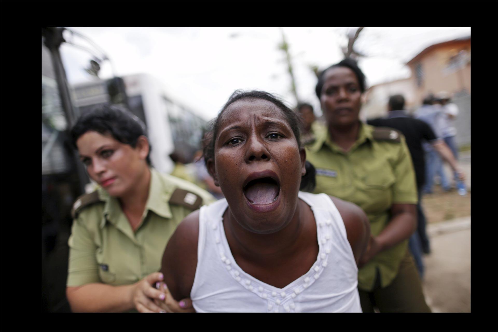 Se produjeron diversas represiones en la isla, antes de la llegada de Obama