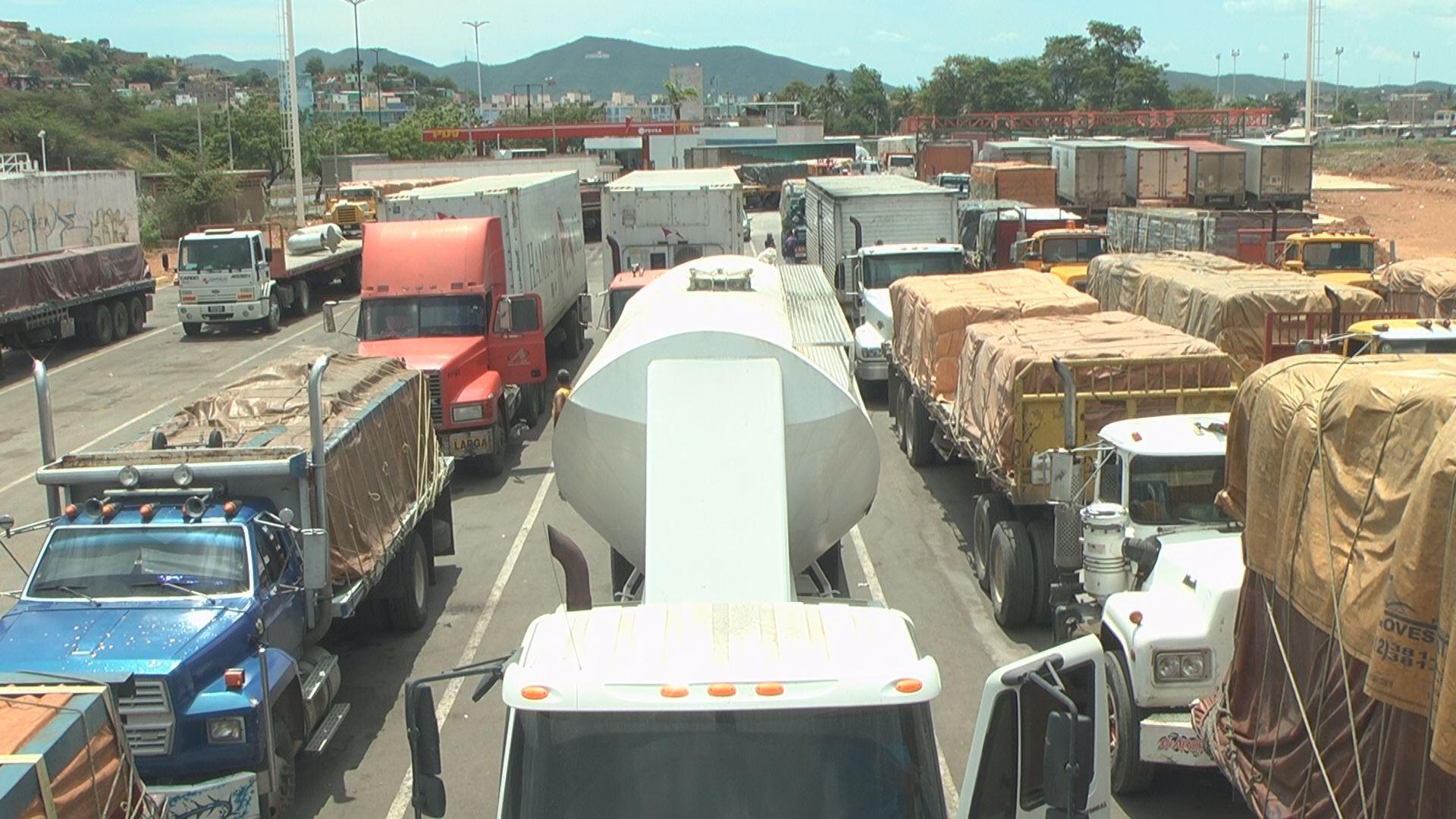 Permanecía escondida en el doble fondo de un camión abandonada en Puerto La Cruz