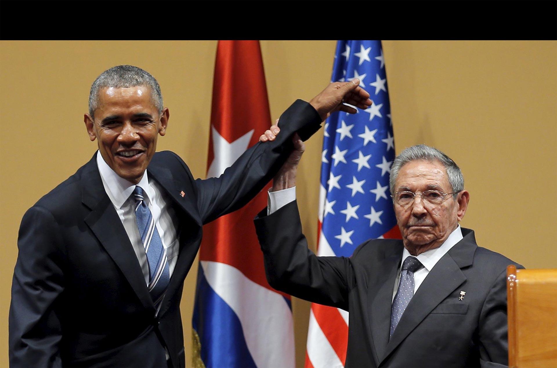 El presidente de EE.UU. aseguró que el encuentro marca un cambio en las relaciones entre ambos países