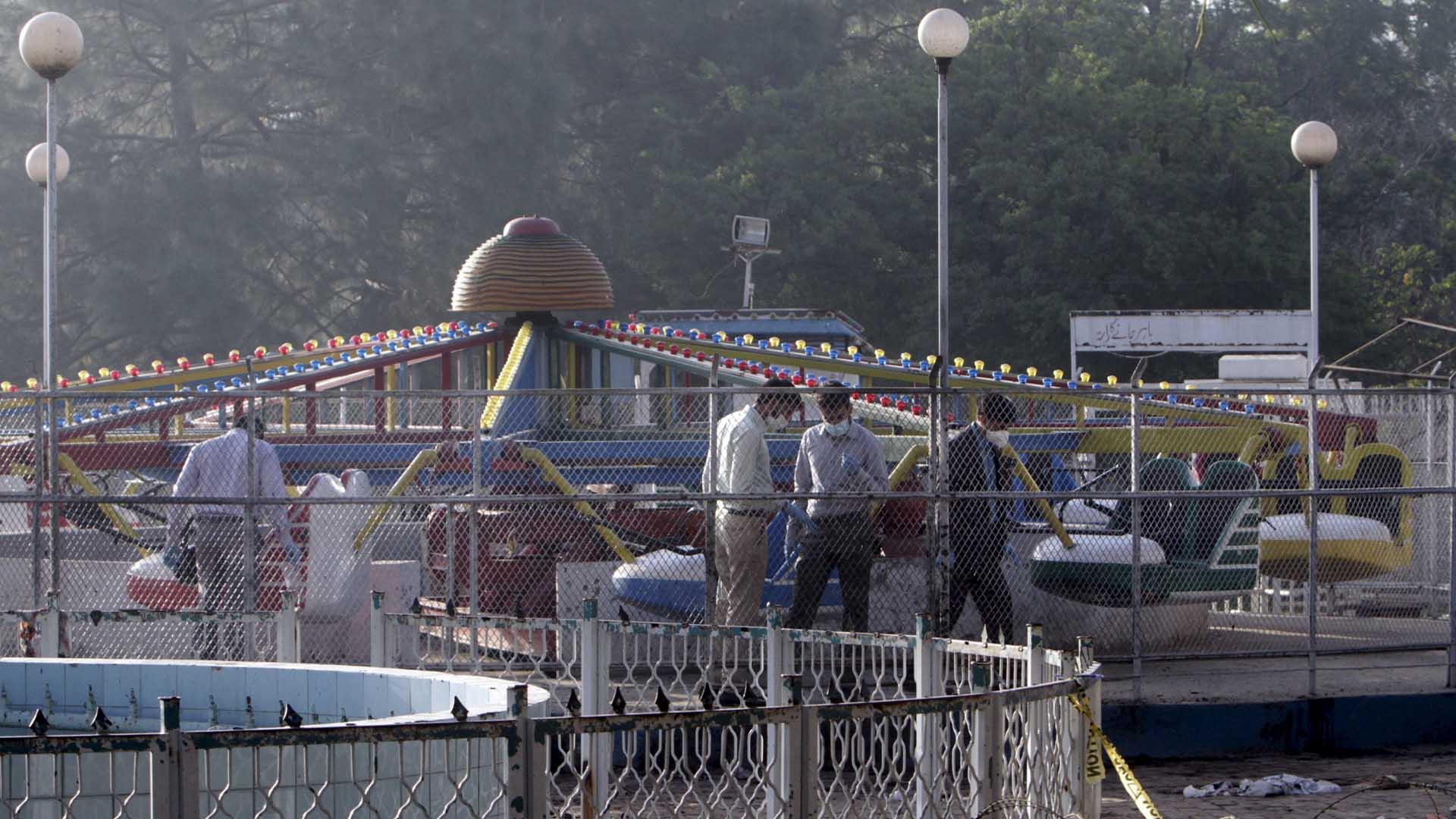 El atentado fue reivindicado por el grupo terrorista talibán paquistaní Jamaat ul-Ahrar
