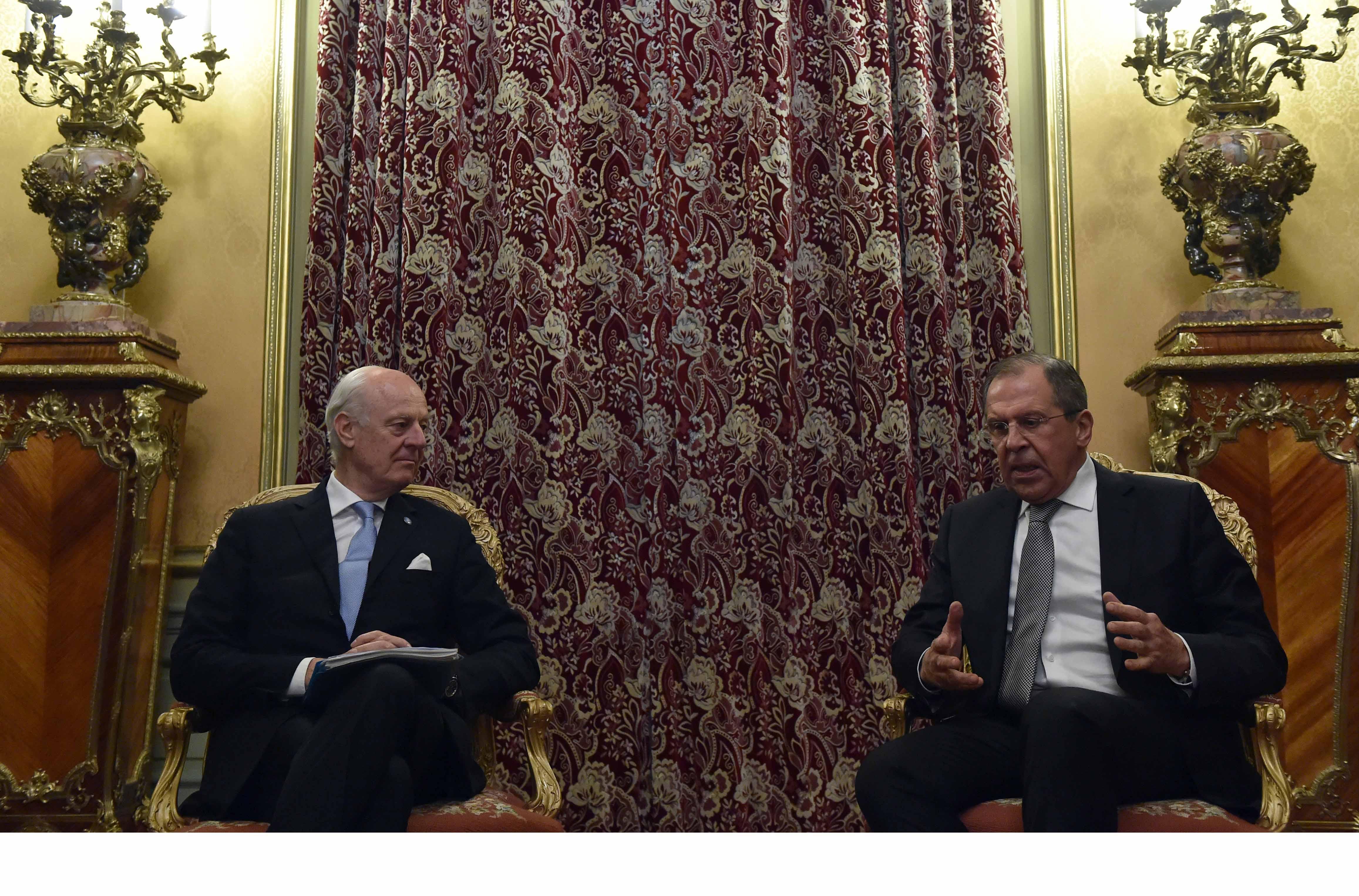 El ministro de Relaciones Exteriores de Rusia espera que el gobierno sirio y la oposición continúen con las negociaciones del proceso de paz