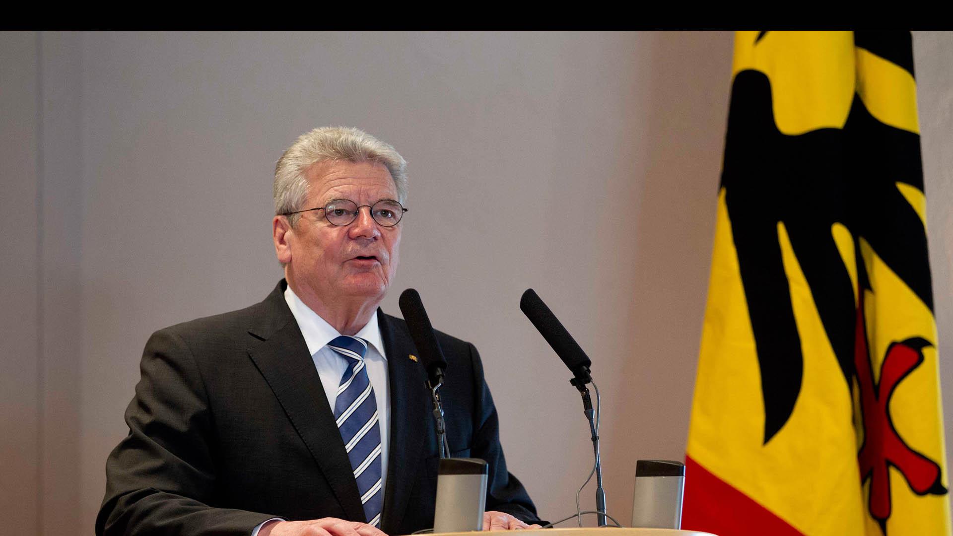 Peña Nieta precisó en una reunión a puerta cerrada con el presidente federal alemán las claves de la ayuda bilateral
