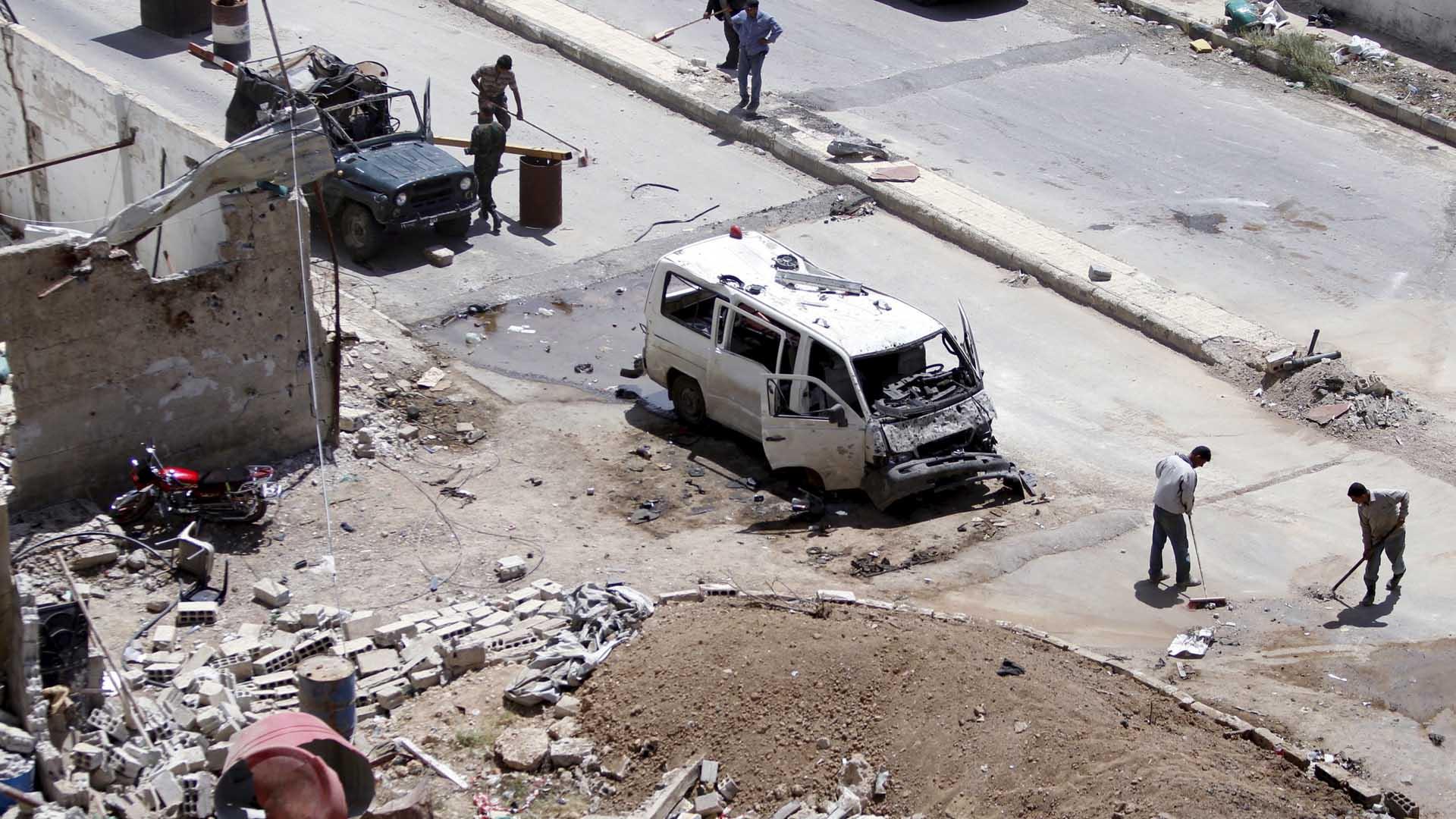 El Observatorio Sirio para los Derechos Humanos dio la información