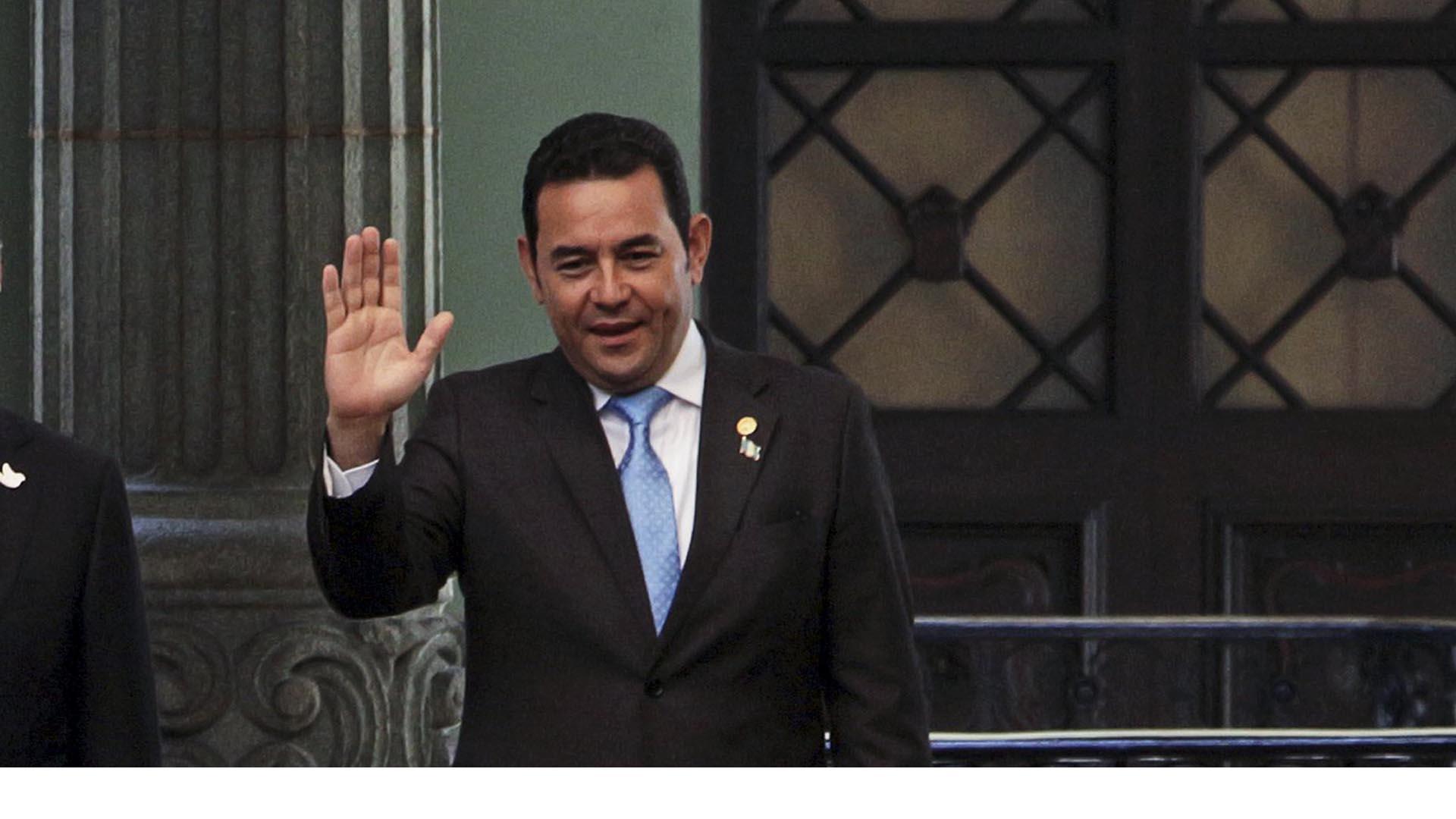 El presidente de Guatemala busca el desarrollo y el aumento de las inversiones en su país