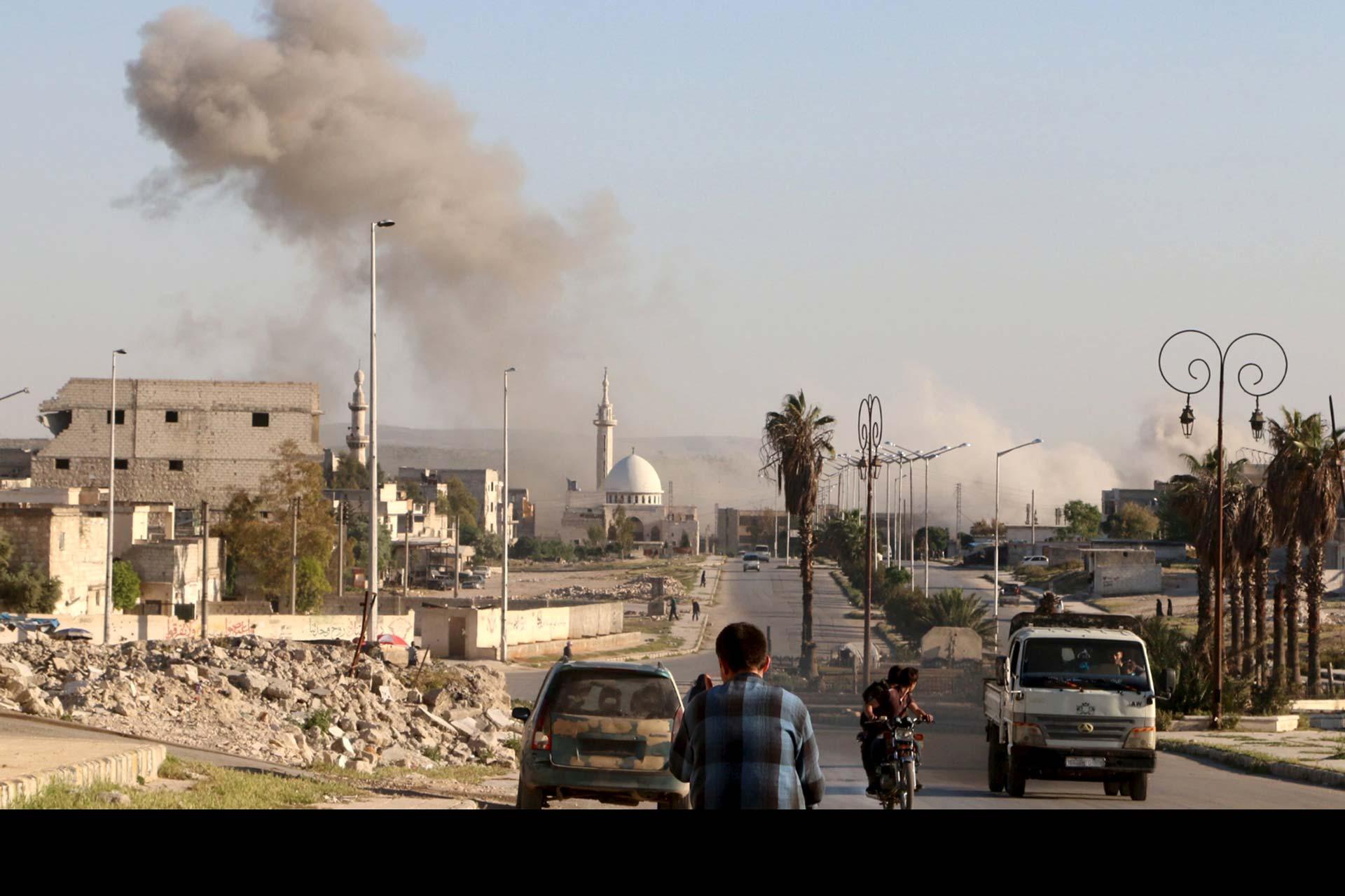 Alepo fue el blanco. Este ataque hace aún más frágil el alto el fuego vigente en el país