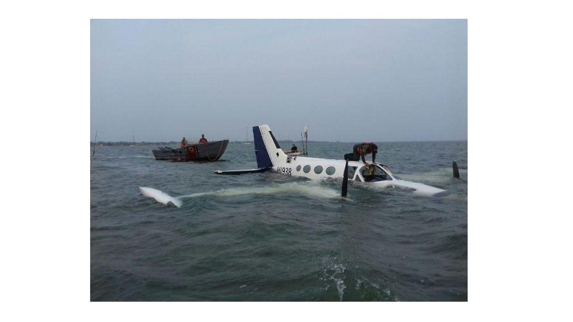 Se presume que la aeronave está relacionada al narcotráfico